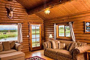 Bar N Ranch - log lodge rooms and rental cabins